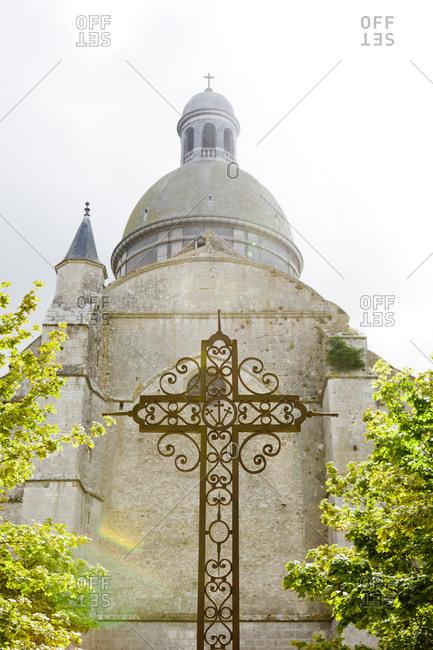 Romanesque church Saint-Quiriace in Provins, France