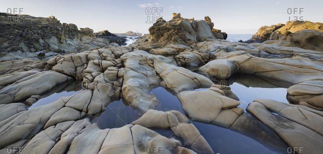 Sonoma Coast with sandstone