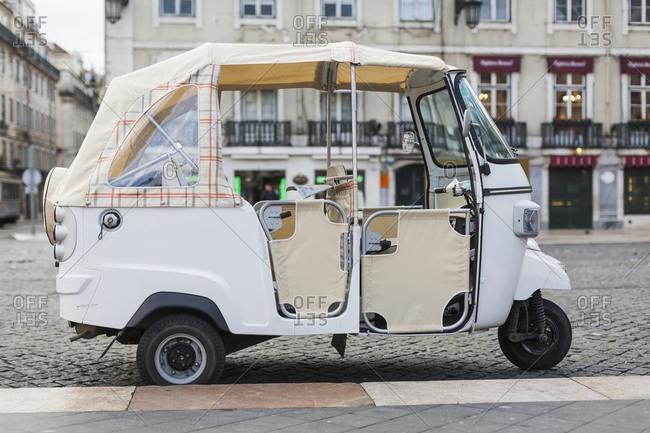 Portugal, Lisbon, Moto Taxi