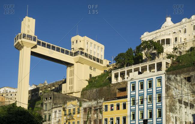 Brazil, Salvador de Bahia, Elevador Lacerda