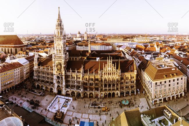 Germany, Bavaria, Munich, New City Hall at Marienplatz