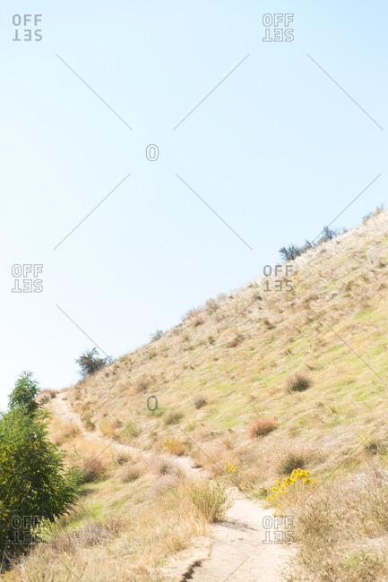 Trail through Idaho countryside