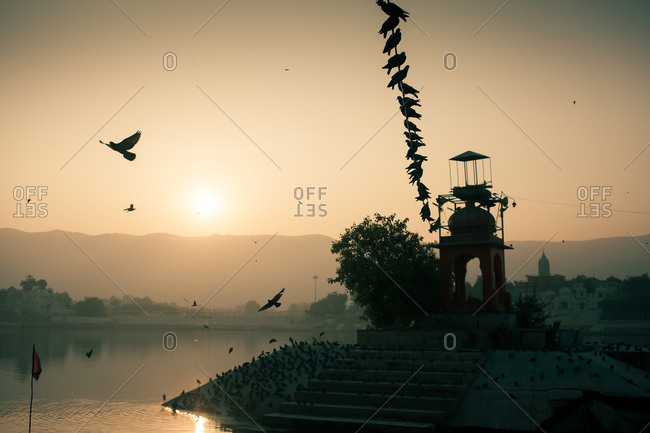 Pushkar Lake, Rajasthan, India