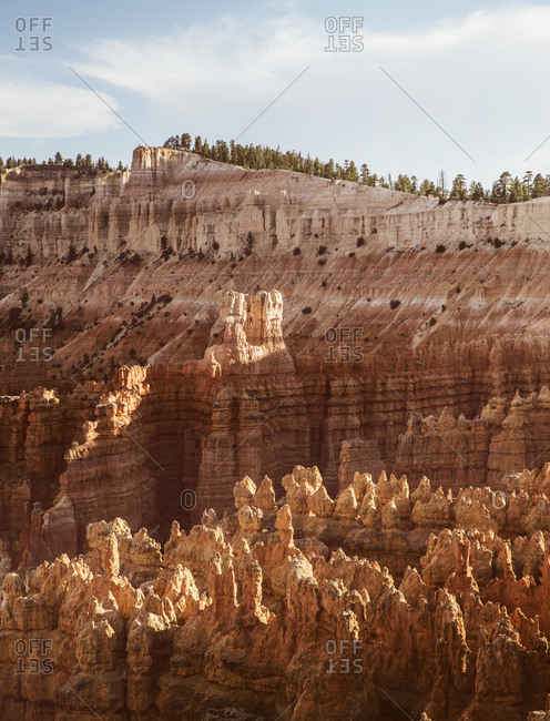 Formations of Bryce Canyon