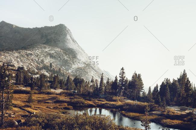 Lake in Yosemite Valley - Offset