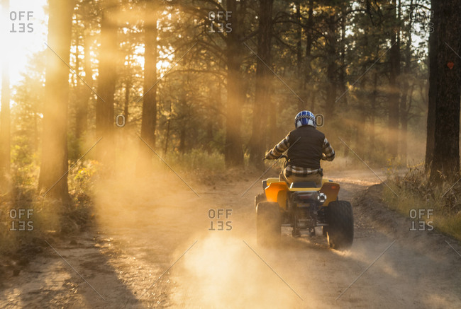 ATV riding in the San Juan National Forest