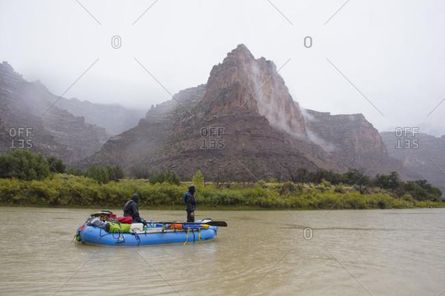 Rafting in Desolation and Gray Canyons, Green River, Utah