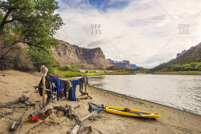 Rafting in Desolation and Gray Canyons, Green River, Utah