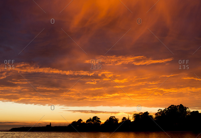 An orange sunset - Offset Collection