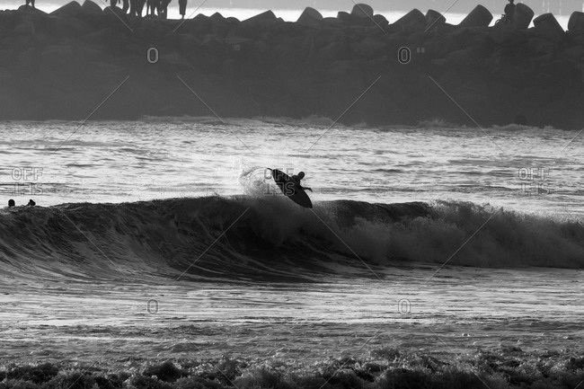 Surfer in midair - Offset Collection