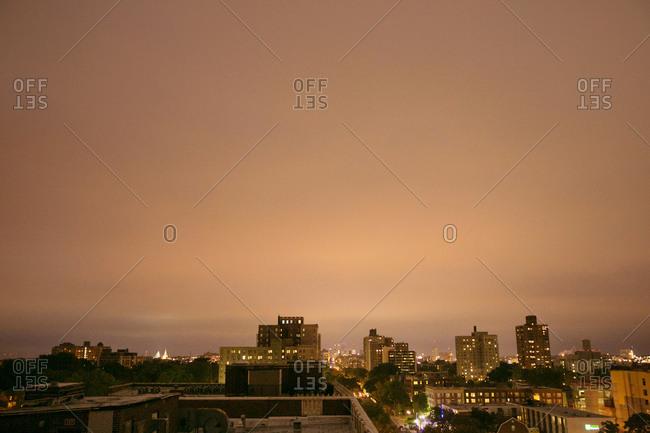 St. Louis, Missouri skyline at night