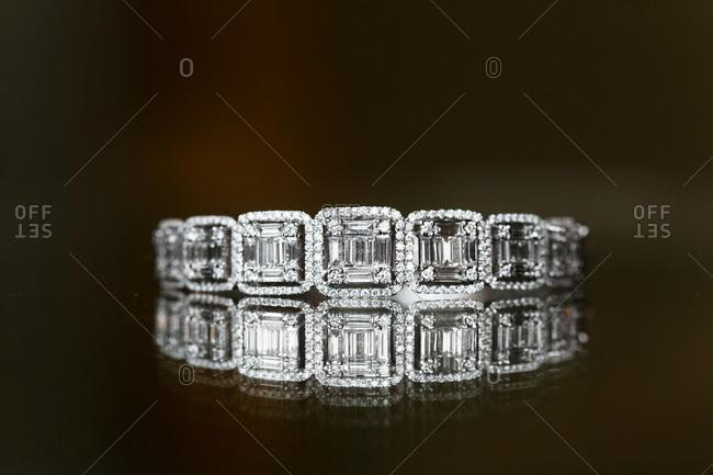 Close-up of a diamond ring