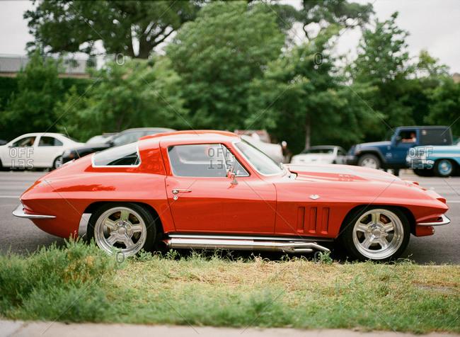 A 1965 Chevrolet Corvette Stingray coupe