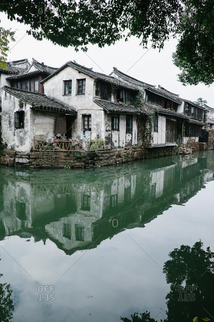 Houses in Zhouzhuang, China