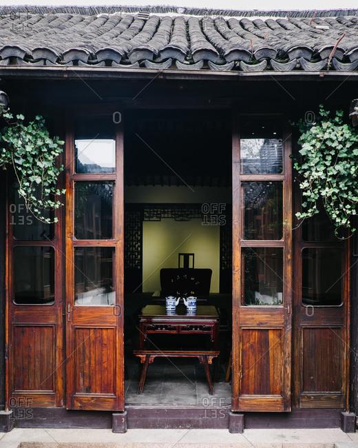 Tea house in Zhouzhuang, China