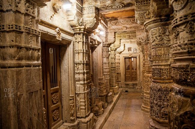 November 26, 2015: An ornate doorway in India