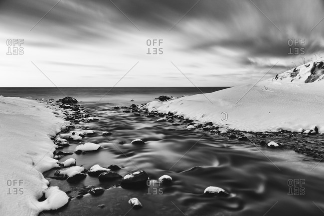 Okhotsk Sea near Hokkaido, Japan