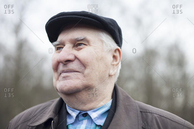 6b72411a ... A portrait of an elderly man in a newsboy hat. Add to setAdd to cart.  EXCLUSIVE IMAGE. Baby boy wearing overalls ...