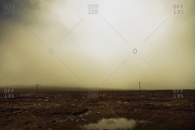 Desolate moor, Isle of Lewis, West Coast, Scotland