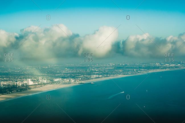 Coastal view of Malibu - Offset