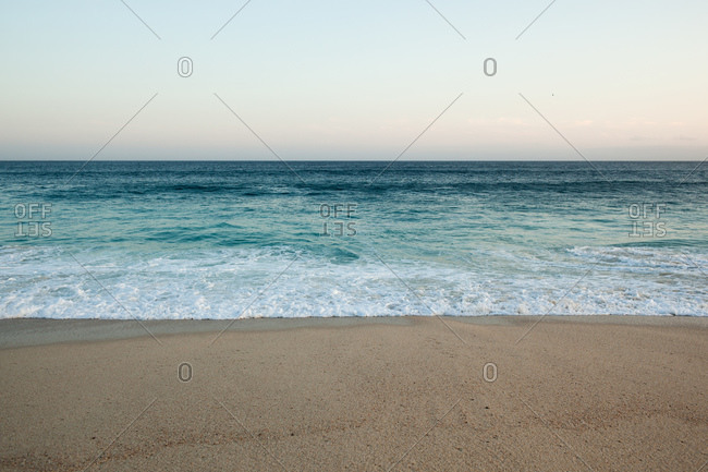 Beach and Pacific ocean