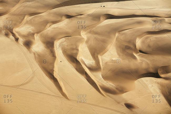 Sand dunes of Namibian desert