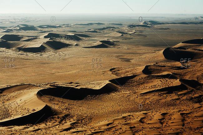 Desert peaks in Namibia - Offset