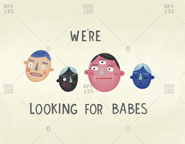 Dudes looking for babes