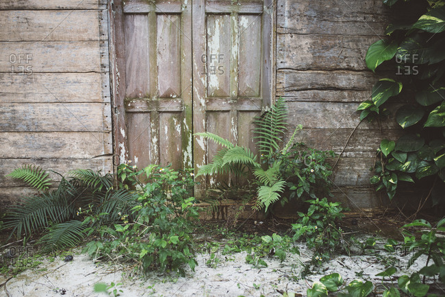 Weathered building in Cuba