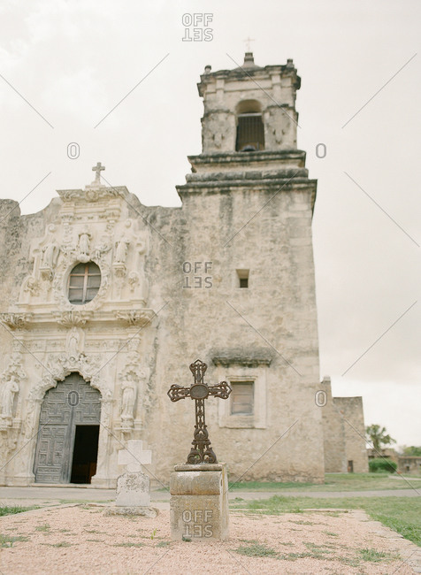 Church of the Mission San Jose, Texas