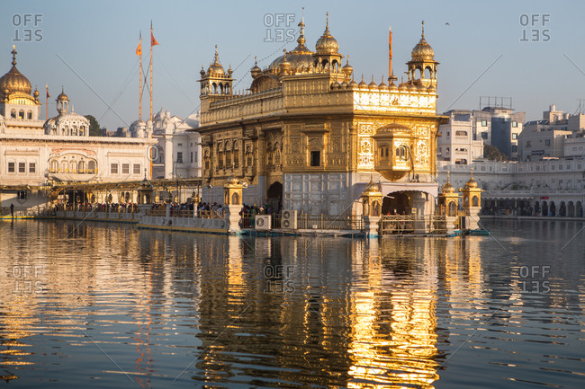 Sikh temple in India