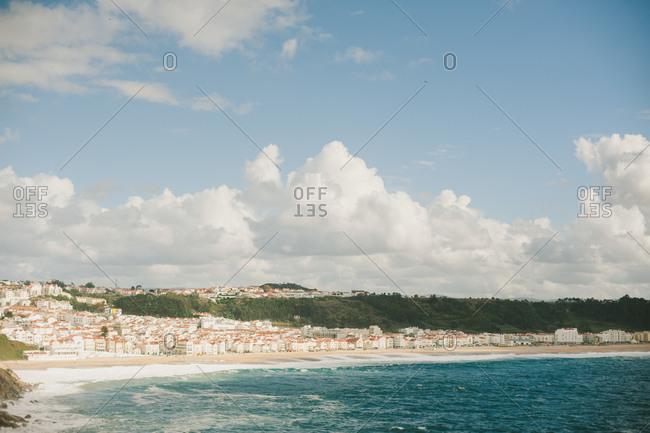 Coastal town of Nazare, Portugal