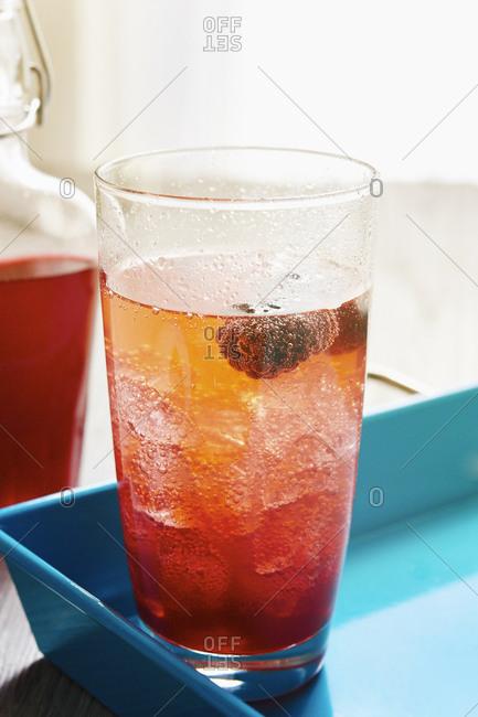 Blackberry  Shrub drink