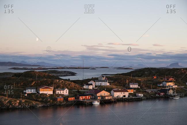 Myken island on the Norwegian coast