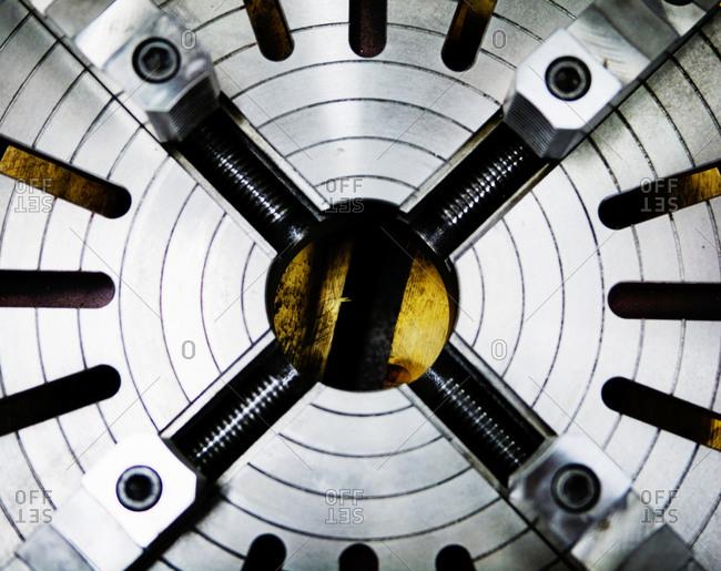 Circle of metal
