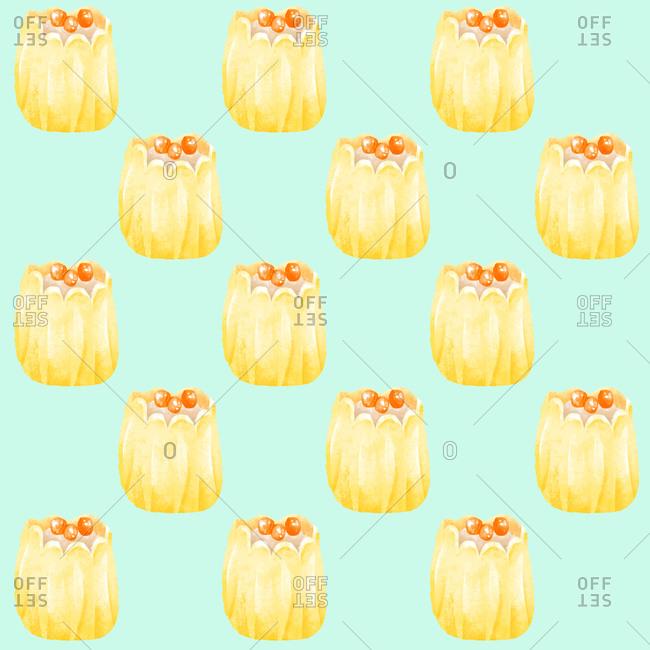 Shumai dumpling pattern design