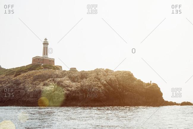 Punta Carena of Capri, Napoli, Campania, Italia