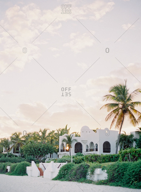 Spanish style home in Anguilla