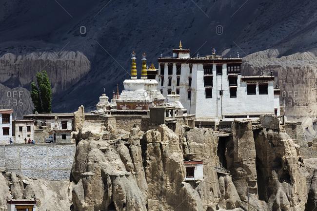 Lamayuru Monastery on remote hilltop, Ladakh, India