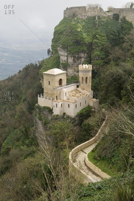 Venus Castle, Erice, Sicily, Italy