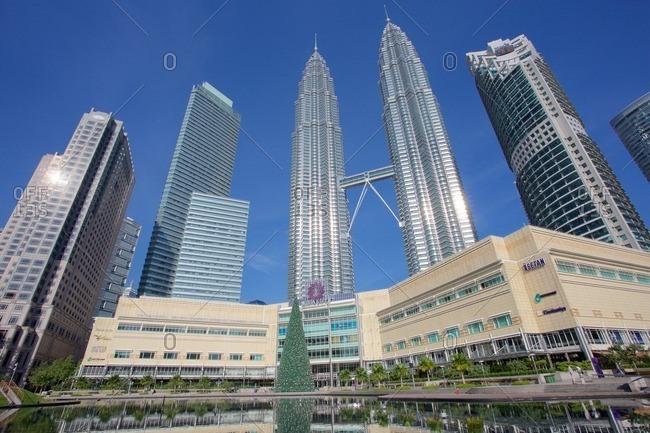 December 21, 2015: Asia, Malaysia, Kuala Lumpur, Petronas Twin Towers
