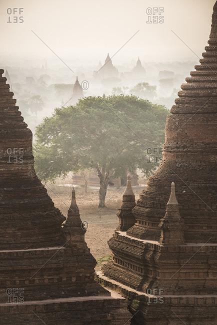 Sunrise at the Temples of Bagan, Myanmar