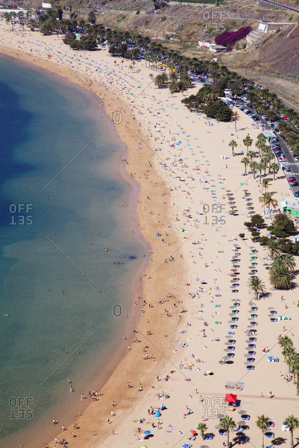 Playa de las Teresitas Beach, San Andres, Tenerife, Canary Islands, Spain