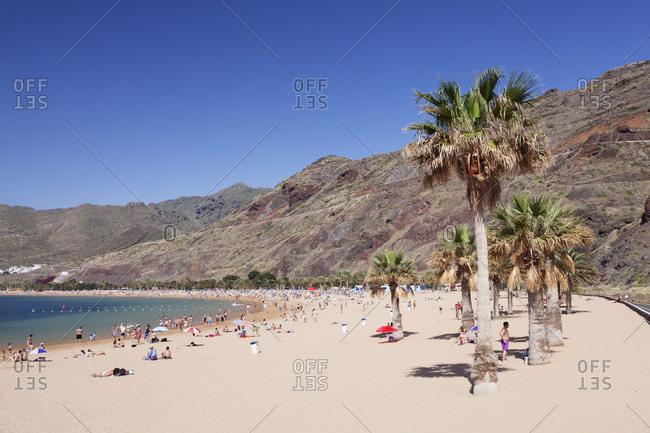 Playa de las Teresitas Beach, San Andres, Tenerife, Canary Islands, Spain