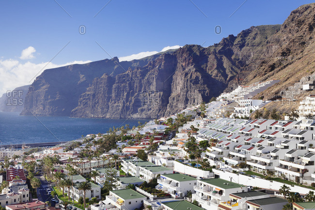 Los Gigantes, West coast, Tenerife, Canary Islands, Spain