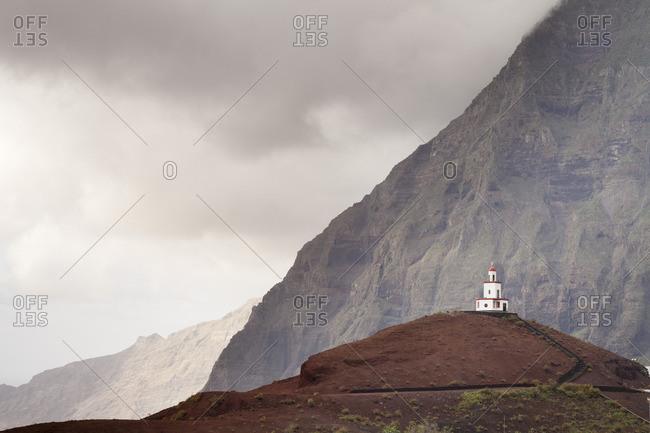 Nuestra Senora de la Candeleria church, La Frontera, El Golfo, UNESCO biosphere reserve, El Hierro, Canary Islands, Spain