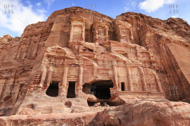 Corinthian Tomb, Royal Tombs, Petra, Jordan, Middle East