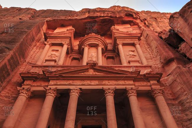 The Treasury (Al-Khazneh), Petra, Jordan, Middle East