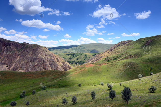 Landscape south of Erzurum, east Anatolia, East Turkey, Turkey