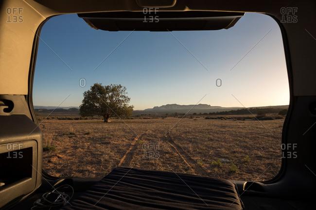 Landscape in Utah, USA